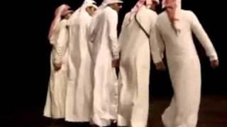 دبكة طلاب سعوديين في أمريكا - Saudi Dance in America