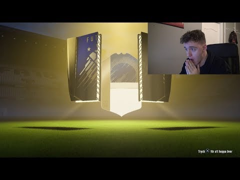 WTF!!! ICON I ETT TOTY PACK!!! - FIFA 18 PACK OPENING SVENSKA
