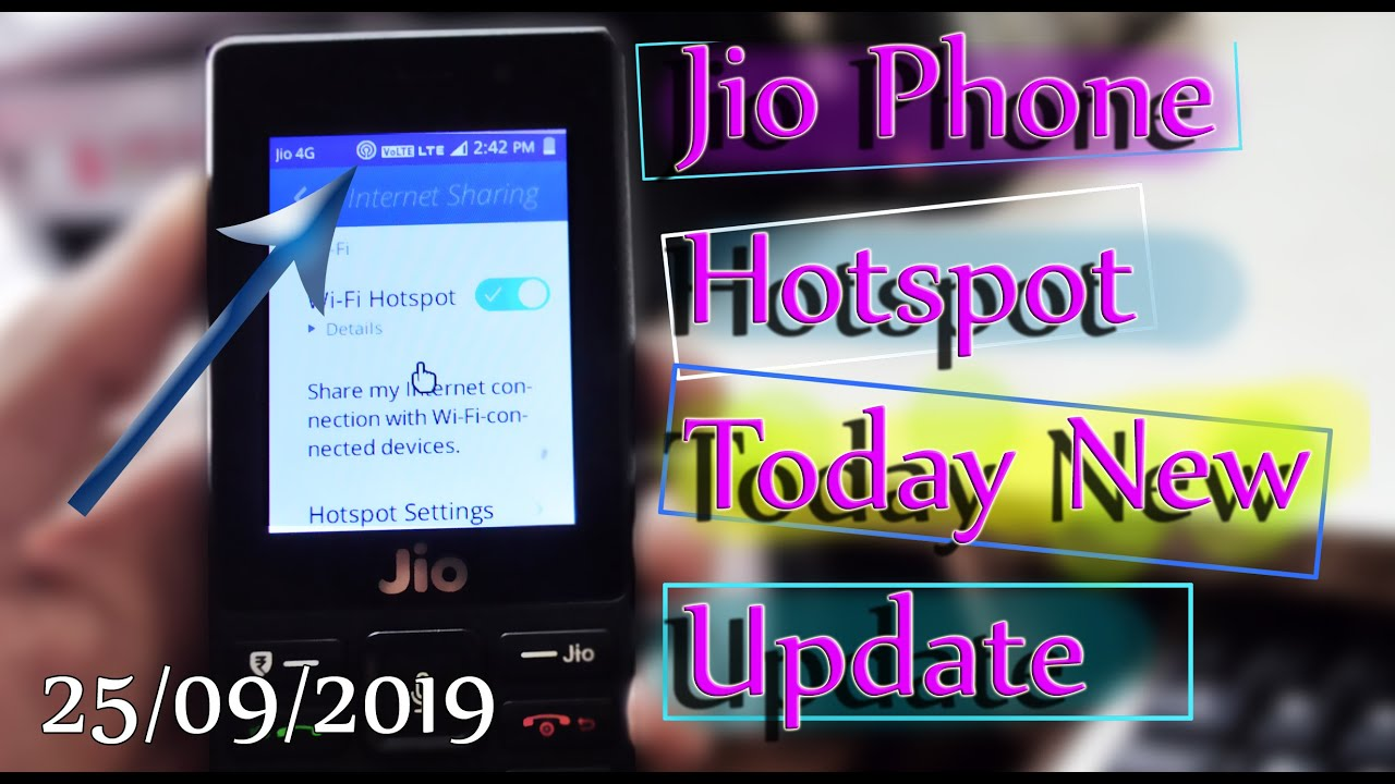 How To Enable Hotspot On Jio Phone 100 Working New Cuitan Dokter