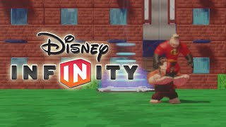 Disney Infinity - Helping Fix-it Felix Jr Toy Box Level Showcase - Gameplay (hd)