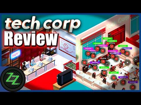 Tech Corp Deutsch (Review) Wir bauen uns eine Firma wie Apple oder Sony - Wirtschaftssim im Test