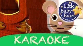 Hickory Dickory Dock | Karaoke Version With Lyrics HD from Learn with Little Baby Bum