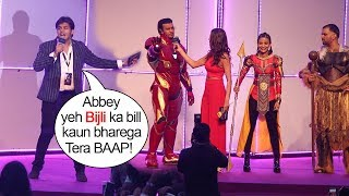 Ashish Chanchlani Makes FUN of Iron Man,Thor & Other Avengers At Avengers Endgame Movie Launch India