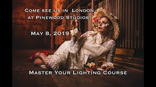 Come see us in London on May 8, 2019 at Pinewood Studios for a Master Your Lighting Course!
