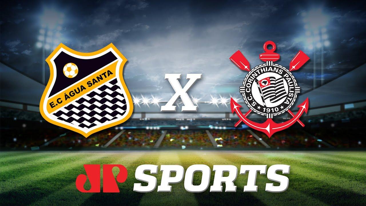 Água Santa 2 x 1 Corinthians - 22/02/20 - Campeonato Paulista - Futebol JP