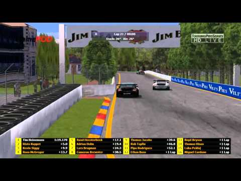 Virtual Carrera Cup 2015: Round 4 Of 8: Adelaide: LIVE