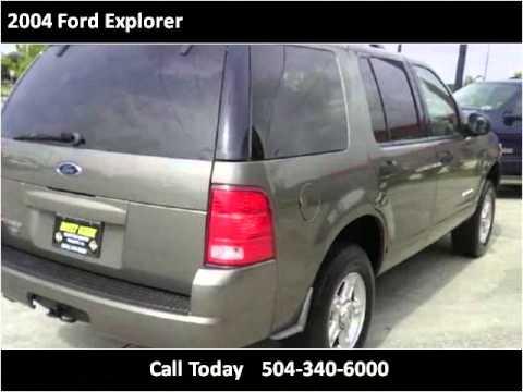 2004 ford explorer used cars marrero new orleans la youtube. Black Bedroom Furniture Sets. Home Design Ideas