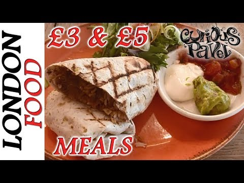 The CHEAPEST FOOD IN LONDON, Eat For £3 & £5 Meal Deals, WUNTU