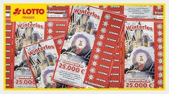 Rubbelkönig präsentiert: 5€ Winterlos von Lotto Hessen ☃️
