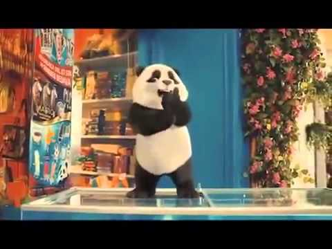 Gülben Ergen - Panda Reklamı