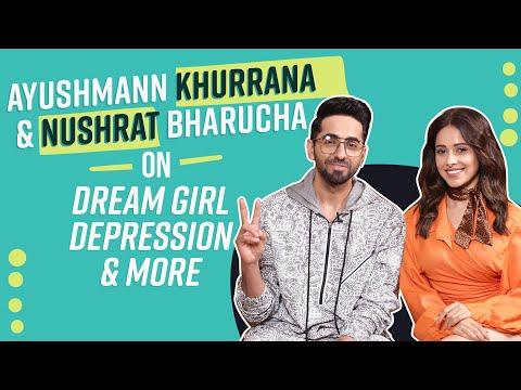 Dream Girl Ayushmann Khurrana and Nushrat Bharucha OPEN UP on depression, National Award | Pinkvilla Mp3