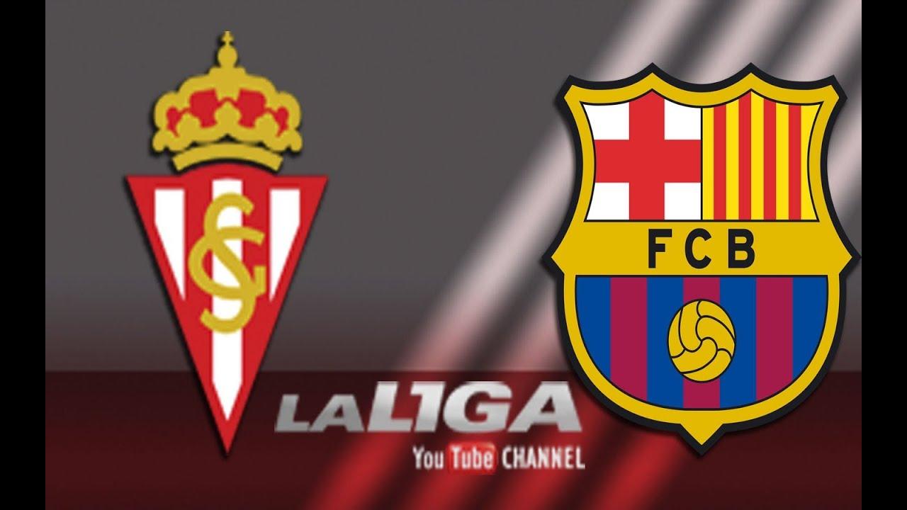 La Liga: Sporting Gijon vs FC Barcelona Maxresdefault
