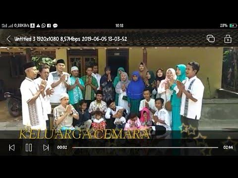 Keluarga CEMARA, Megucapkan Selamat Hari Raya Idul Fitri, MINAL AIZDIN WALFAIDZIN,