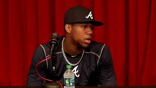 Braves' Ronald Acuña discusses making his MLB debut