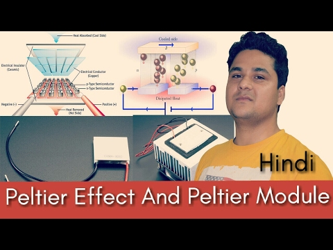 Every Thing About Peltier Effect And Peltier Module Hindi| peltier cooler,peltier air conditioner