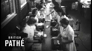Penicillin In Mass Production (1945)