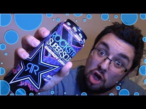Rockstar Super Sours Blue Raspberry Review