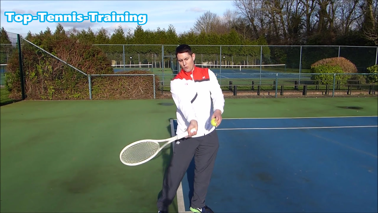Tennis Forehand Technique - How To Stay Loose Like Roger Federer  Top  Tennis Training - Pro Tennis Lessons 10:16 HD