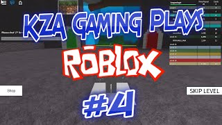KZA Gaming Plays Roblox #4 - Speed Run 4 !!!