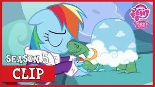 Rainbow Says Goodbye To Tank (Tanks for the Memories) | MLP: FiM [HD]