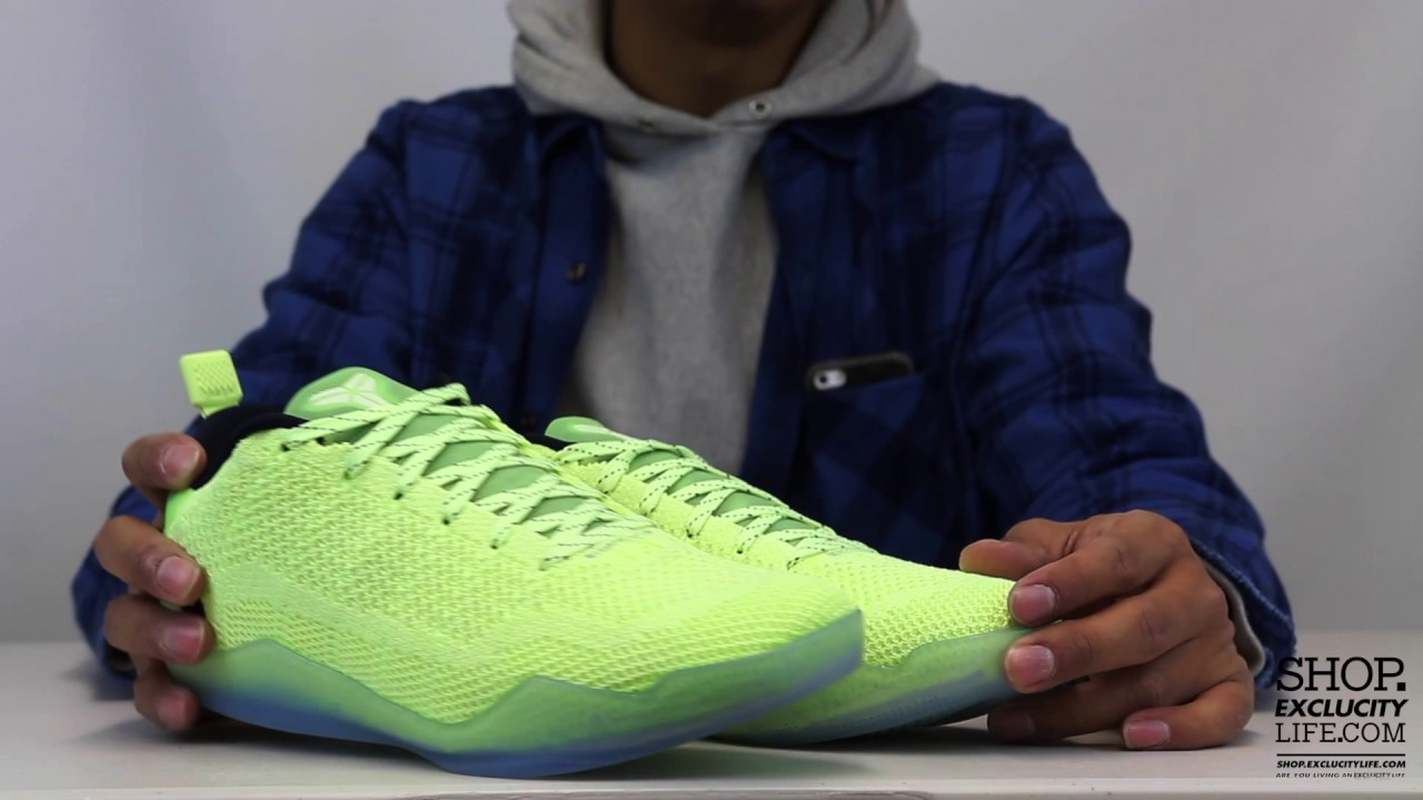 kobe xi premium 4kb ghost of christmas past unboxing video at exclucity youtube