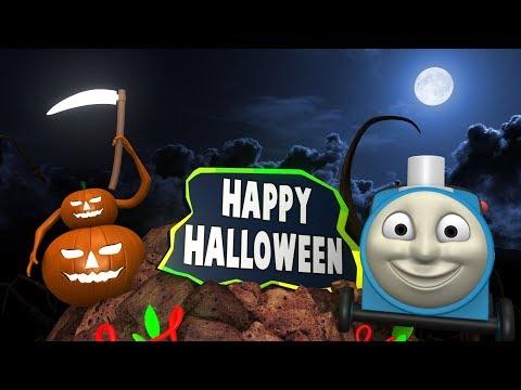 Halloween 2018 - Toy Factory Halloween -  Halloween Cartoon for Kids - Thomas The Train - Pumpkin