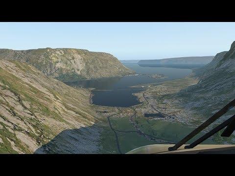 X-Plane 11! Flying the Westfjords of Iceland! [BIBD to BIIS]