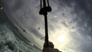 mallorca kitesurfing gopro