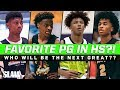 Who's Your Favorite HS Point Guard?! Sharife Cooper, Bronny James, & More!