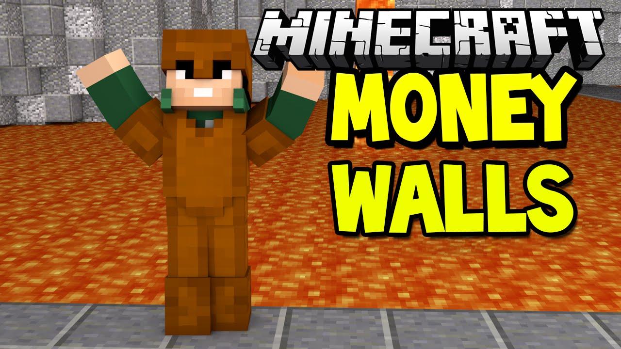 Сервер майнкрафт с мини игрой money walls