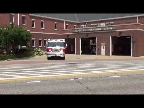 Fire units responding Mount Prospect Illinois Engine & Ambulance 13