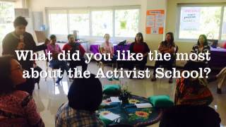 Women Human Rights Defenders Activist School for Women Engaged in Action on 1325