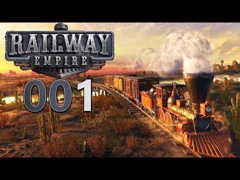 RAILWAY EMPIRE 🚂 [001] Neu im wilden Osten 🚂 Let's Play Railway Empire deutsch gameplay