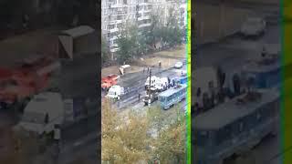 В Павлодаре две школьницы попали под трамвай