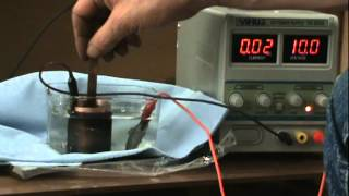 How To Electroplate Silver Over Copper