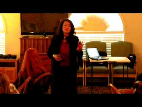 Rosie Zepeda Speaks On Compelling Business Plans @ Tracy (GNA) Monthly Mastermind - 8-2-12