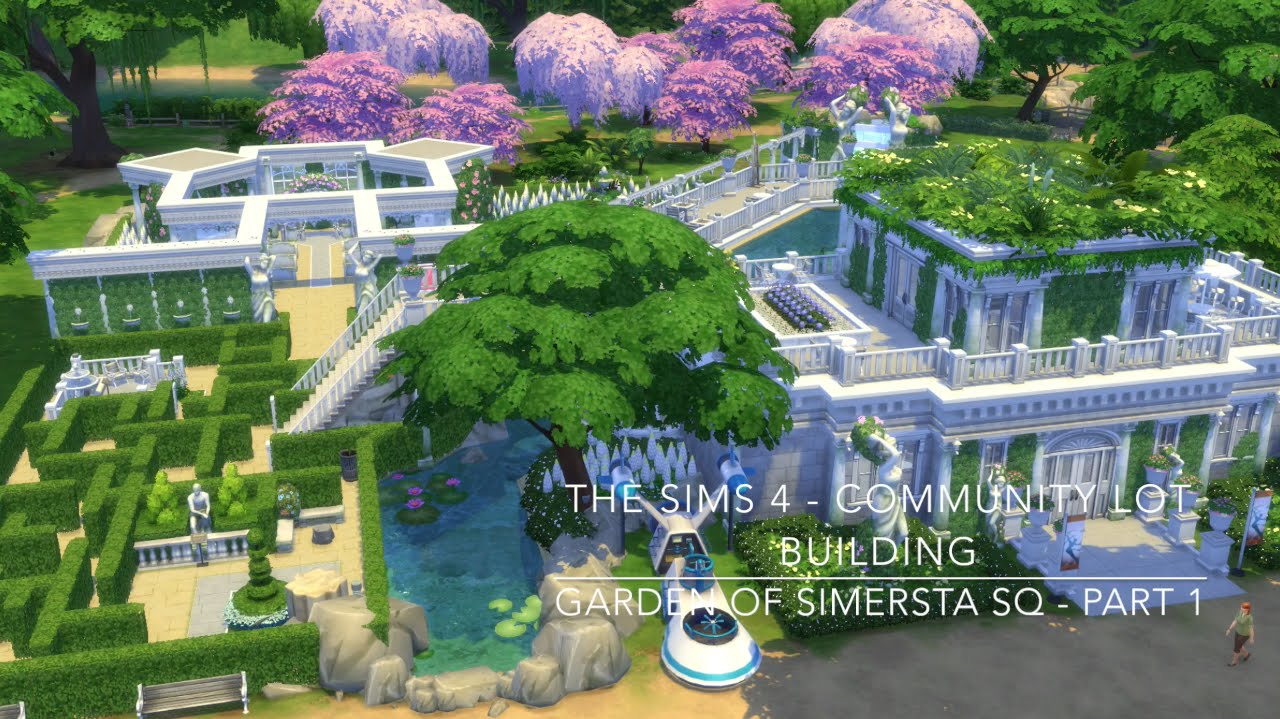 how to make community garden sims 4