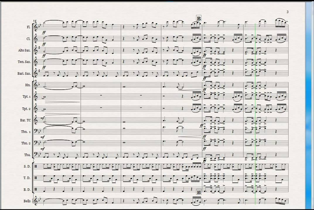 never gonna give you up marchingpep band arrangement