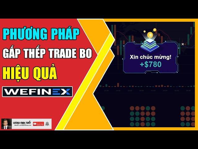 Wefinex - Phương Pháp Gấp Thếp Trade BO Hiệu Quả 🔴 Lương Minh Triết