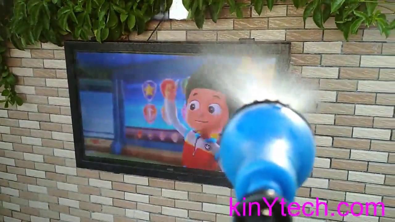 Outdoor Tv Cabinet Enclosure Case Waterproof Test Diy