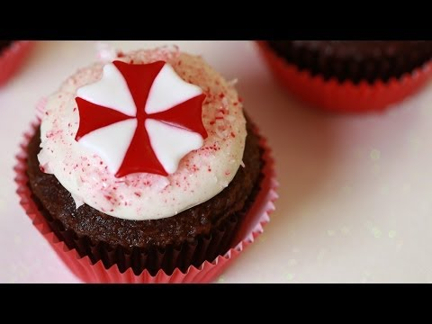 Save RESIDENT EVIL CHOCOLATE PEPPERMINT CUPCAKES - NERDY NUMMIES Screenshots