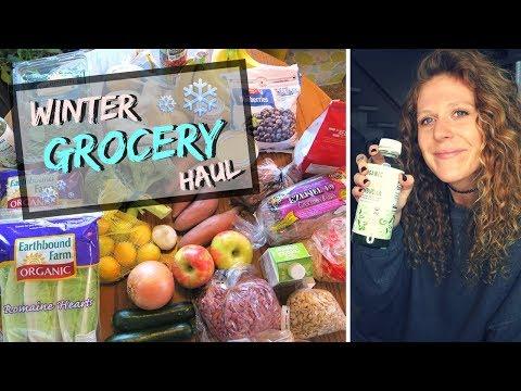 WINTER GROCERY HAUL | Vegan & Cheap! 🍃❄️