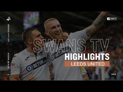 Highlights: Swansea City 2 - 2 Leeds United