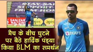 #BlackLivesMatter का समर्थन करने वाले IPL के पहले खिलाड़ी बने हार्दिक पांड्?या