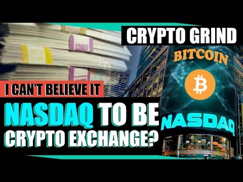 NASDAQ Joining the Crypto Space? + Update on my $200 to $25K Robinhood Goal