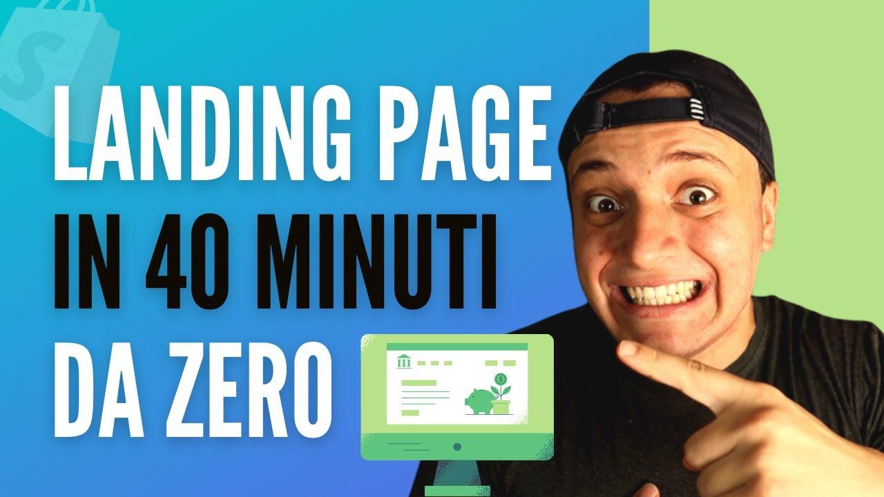 Download Come Creare Una Landing Page In 40 Minuti (Guida Completa)