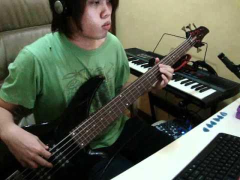 ナルト ED 「流星」 TiA ベース Naruto Ryuusei Bass Cover