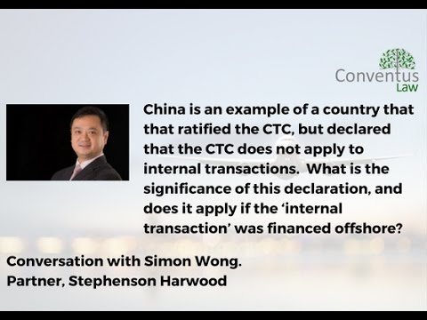 Aircraft Financing - China and the Cape Town Convention - Internal Transactions.