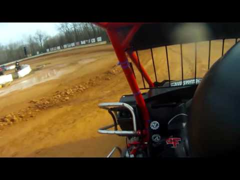 Chloe Andreas Racing: First micro sprint laps @ Airport Speedway - 4/8/17