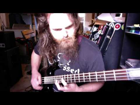 Manowar - Black Wind Fire And Steel (Bass Cover)